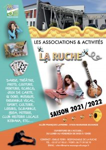 Flyer La Ruche 2021/2022