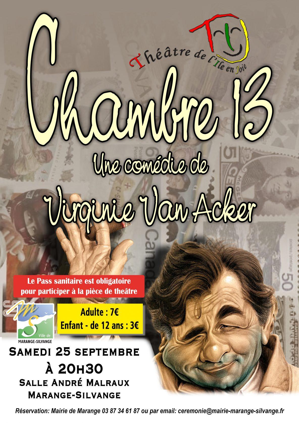 Pièce de théâtre Chambre 13
